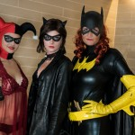 Harley, Catwoman and Batgirl